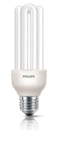 Philips G10Y23B1 Lampadina a Risparmio Energetico, 23W (Corrispondenti a 100W), Attacco Grande E27, Luce Bianca Calda