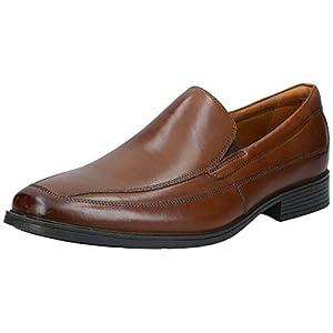 Clarks Tilden Free, Men's Loafers, Brown Dark Tan Leather, 9.5 UK (44 EU)