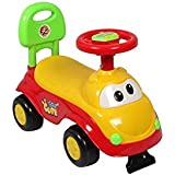 Black Fumes Baby Doodle Ride-on Car With Musical Horn For Kids (Yellow)