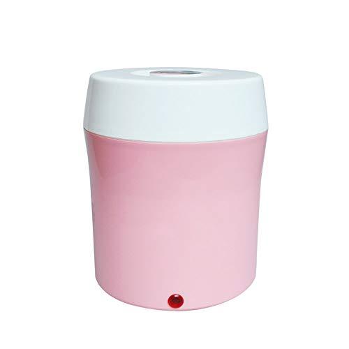 DYR Joghurtbereiter Joghurt Maker Multifunktionaler Haushaltsautomatischer Mini-Glasliner Reiswein Natto 1.8L Joghurtmaschine (Farbe: ROSA)