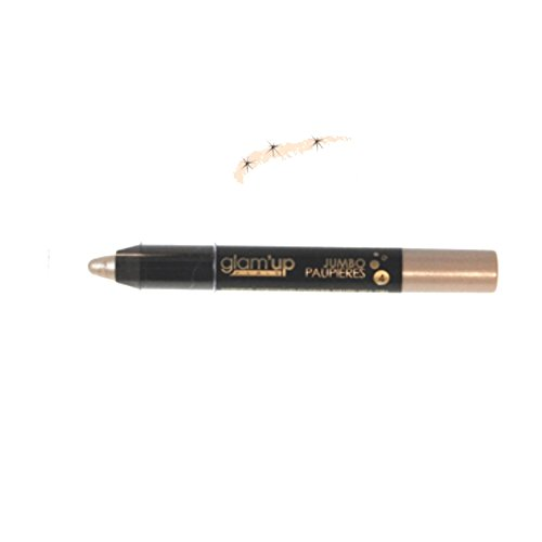 Glam'Up Maquillage Yeux Crayon Jumbo Pailleté Beige - Fabrication Européenne