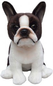 BOSTON TERRIER SOFT AND CUDDLY TOY -