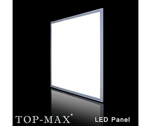 Senweit 4Pack 45W LED Ceiling Panel Light 3800 lumens Pure Cool White 600x600mm Flat Tile Square Recessed Pendant Office Downlight Lamp 120 Beam Angle Super Bright Energy Saving 2835 SMD 80W Fluorescent Bulb Equivalent Aluminum Frame with IC Driver