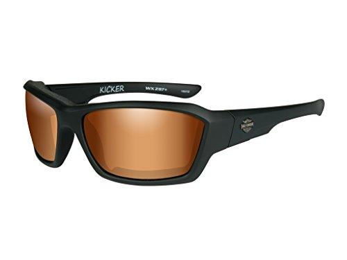 Harley-Davidson Wiley X Kicker Bronze Flash Motorrad Brille
