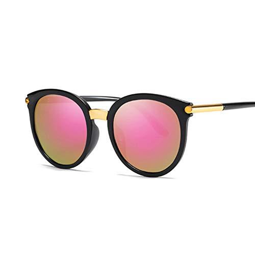Kjwsbb Cat Eye Sonnenbrille FrauenSpiegel ObjektivSchwarz WeißSonnenbrilleWeibliche Shades