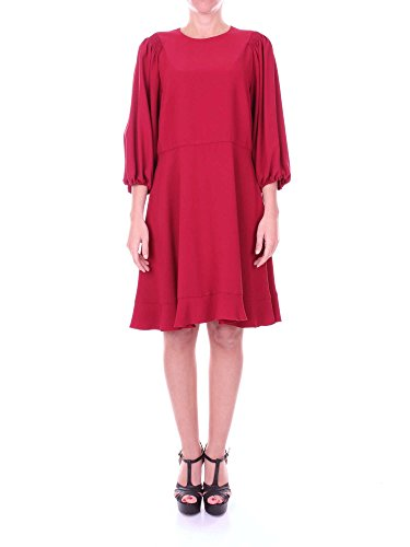 Red Valentino NR0VA5S0 Kurzes Kleid Damen Bordeaux 44