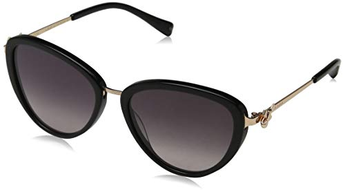 Ted Baker Damen Malin Sonnenbrille, Schwarz (Black/Grey), 54.0