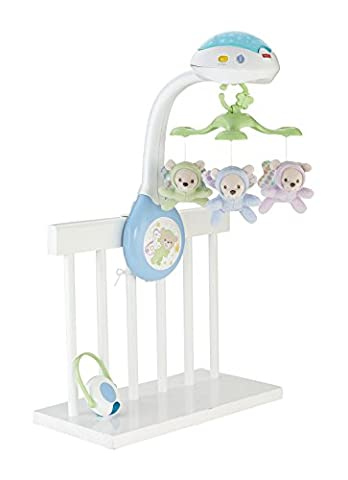 Fisher-Price Butterfly Dreams Projection Mobile Playset.Starry light show projects on ceiling and