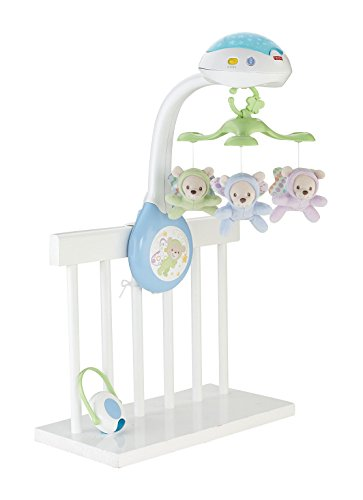 Mattel Fisher-Price CDN41 3-in-1 Traumbärchen Mobile
