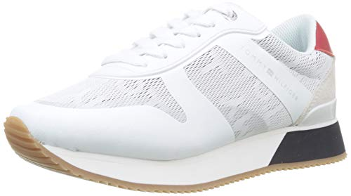 3613f0e2a Tommy Hilfiger Tommy Jacquard City Sneaker Scarpe da Ginnastica Basse  Donna