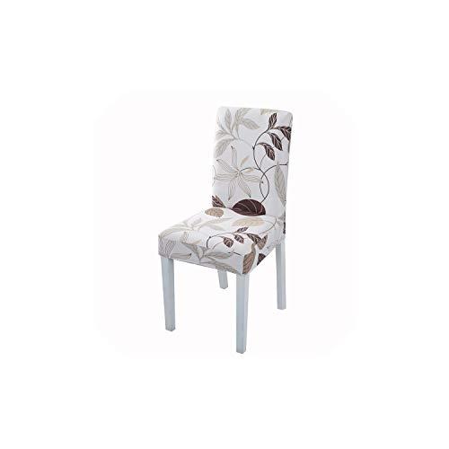 Pevv Wason chair covers Impression de Fleurs Housses de Chaise Housse de Chaise Extensible élastique à Manger Seat Chaise Universel, 17, Universal