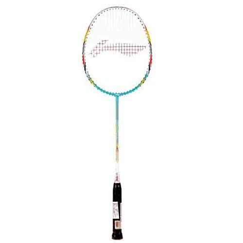 KD Li Ning G Force 3000i Badminton Racket   White and Green Color