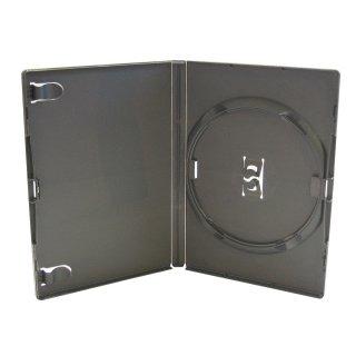 Amaray DVD Hülle, Hüllen schwarz 1 Disc 14mm 50 Stück