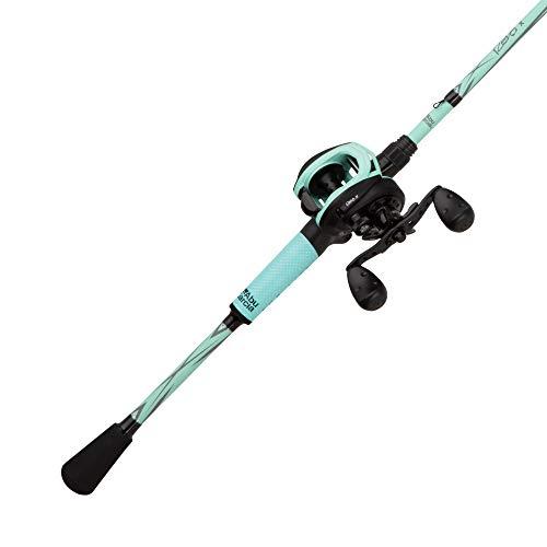 Abu Garcia Revo X LTD Baitcast Low Profile Reel and Fishing Rod Combo, 7', Medium Heavy -
