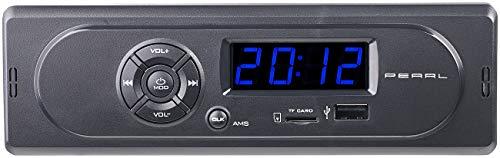PEARL Radio USB: MP3-Autoradio CAS-300 mit Wiedergabe von USB & microSD, 2X 7 W (MP3 Autoradios 1 DIN)