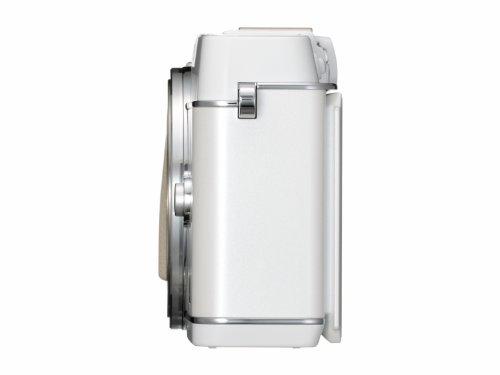 Olympus E-P5 Systemkamera (16 Megapixel MOS-Sensor, True Pic VI Prozessor, 5-Achsen Bildstabilisator, Verschlusszeit 1/8000s, Full-HD) Gehäuse weiß - 4