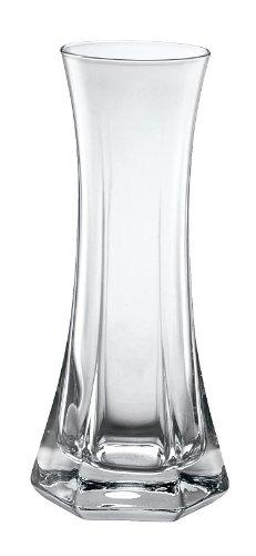 Bormioli Rocco Capitol Vase Einzelblume, Glas, Transparent, 15 cm