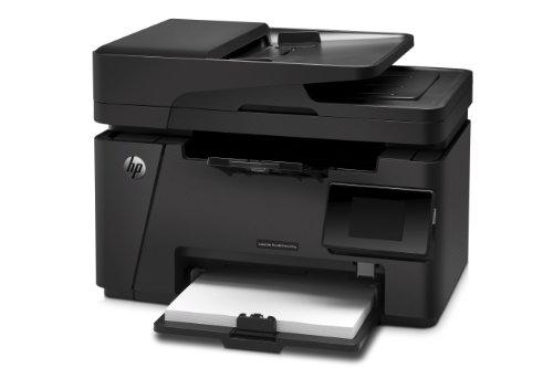 Bild 2: HP LaserJet Pro M127fw Laserdrucker Multifunktionsgerät (Drucker, Scanner, Kopierer, Fax, WLAN, HP ePrint, Airprint, USB, 600 x 600 dpi) schwarz