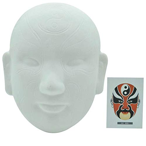 Aida Bz Chinesische Peking Oper DIY Maske, Party Maske Halloween Maske Kostümparty,C