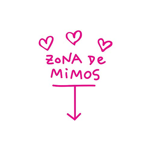(Saeder Zona De Mimos Home Decor Wandaufkleber Aufkleber Schlafzimmer Vinyl Kunstwand Liebe englische Gerücht Wandaufkleber Wandaufkleber für Kinder Schlafzimmer)