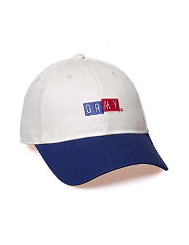Imagen de grimey  f.a.l.a curved visor cap ss19 white strapback