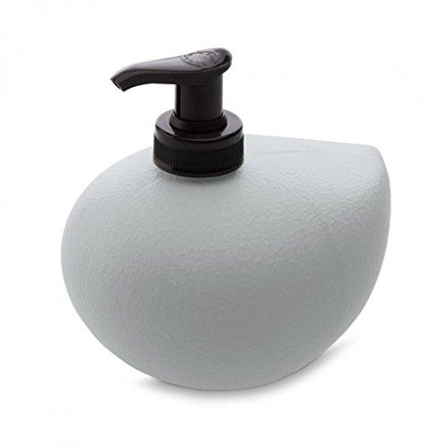 Koziol 5883632 0.45L Gris - Dispensador de jabón (127 mm, 105 mm, 117 mm)