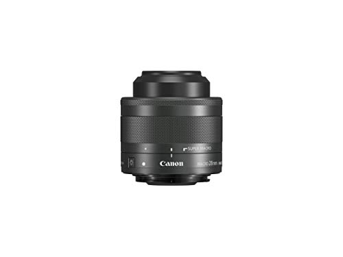 Oferta de Canon EF-M 28mm f/3.5 Macro IS STM - Objetivo para cámara Canon, Negro