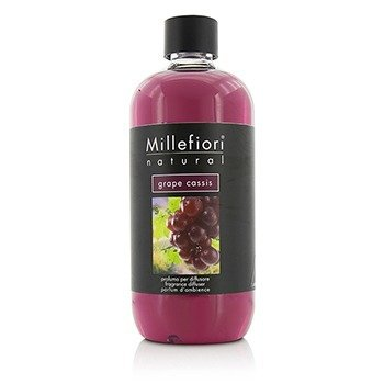 Millefiori Natural Ricarica per diffusore di fragranza per ambienti 500ml fragranza Grape Cassis
