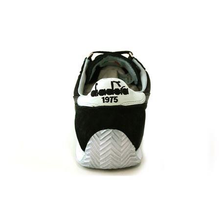 Diadora Equipe Stone Wash 12, Chaussures Basses Mixte Adulte Noir