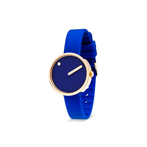 Rosendahl Picto 103986 - Reloj de pulsera unisex analógico de cuarzo, silicona