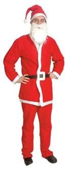 Santa Suit Jacket and Trousers
