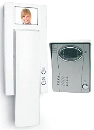 Astrell - Interphone vidéo 2 fils écran 2,5'' couleur platine de rue en sail ...