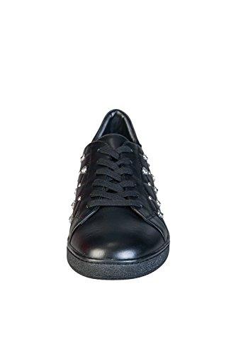 Versace , Baskets mode pour homme noir noir Noir