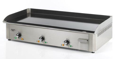 Roller Grill R.PSR900EEC Plancha Pro Électrique Triple Emaillée