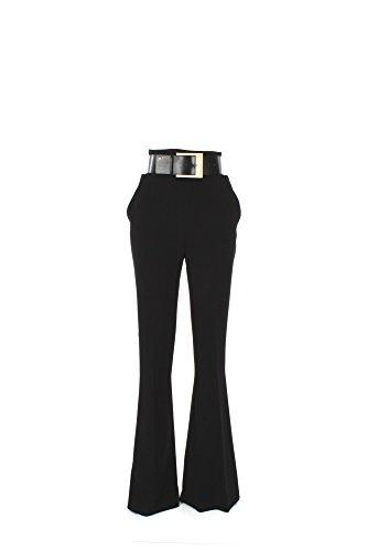 Pantalone Donna Elisabetta Franchi 42 Nero Pa9724262 1/7 Primavera Estate 2017