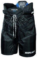 Bauer Nexus 600Senior Pantaloni da hockey sul ghiaccio per adulti, Bleu - Bleu, XL