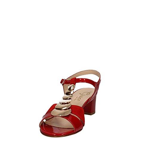 GRACE SHOES E7811 Sandalo tacco Donna Nero