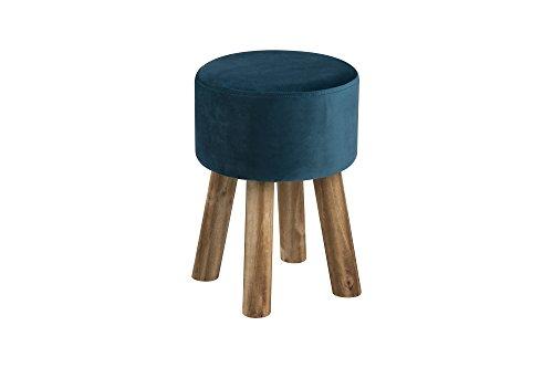 AC Design Furniture Stuhl Heidi, B: 28 x T:28 x H: 40 cm, Stoff, Grün