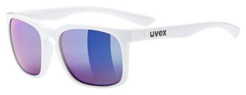 Uvex Erwachsene lgl 35 CV Sportbrille, white, One Size