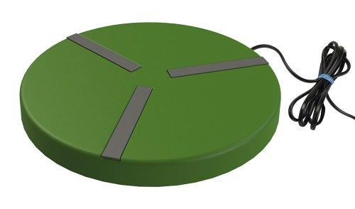Kerbl 70236 Heizplatte für Geflügeltränken ø 250 mm, 24 V, 15 W, mit Netzteil