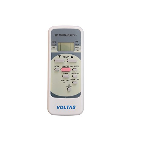 Isoelite Remote Compatible for Voltas Split AC Remote Control (Please Match The Image with Your Old Remote)