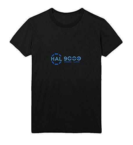 2001 Space Odyssey HAL 9000 AGI Systems Retro Logo_R4999 for Für Männer Herren Man Shirt T-Shirt Tshirt T Shirt Gift for Him Her Lustige Present - L White Men's -