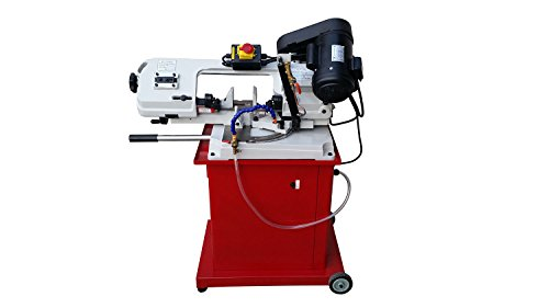 PAULIMOT Metallbandsäge BS-128HDR auf Untergestell inkl. Kühlmitteleinrichtung