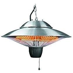 Lacor 69420 - Lámpara/calentador eléctrico, 1500 W, 42 cm