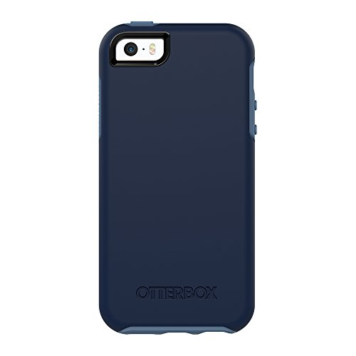 OtterBox SYMMETRY SERIES Case for iPhone 5/5s/SE - Frustration Free Packaging - BLUEBERRY (ADMIRAL BLUE/DARK DEEP WATER BLUE)