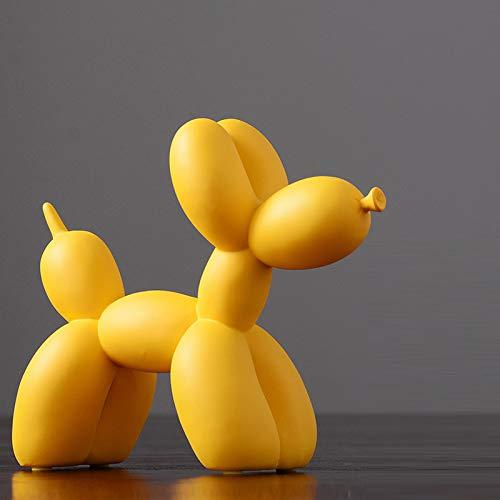 OYBB Adornos Escultura Adornos Escultura Moderna Minimalista Colorido Globo Adornos para Perros Sala de Estar nórdica Habitación Habitación Porche Vino Decoración Muebles