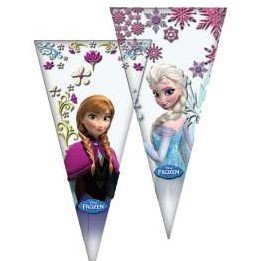 Frozen - 10 Bolsa cono 20X40 Verbetena 014001252