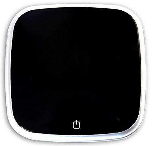 ZUKN Coche purificador de Aire portátil de Viaje Auto Limpiador de Aire con Adaptador sedán Aire ambientador Eliminar Olor Olor bacterias,Black