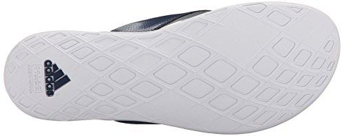 Adidas Performance Supercloud Inoltre Thong W Athletic Sandalo, nero / grigio medio / argento, 5 M U Blue/Halo Blue/White