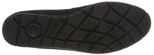 Gabor Ladies Comfort Sport Chiuso Ballerine Nero (47 Nero)